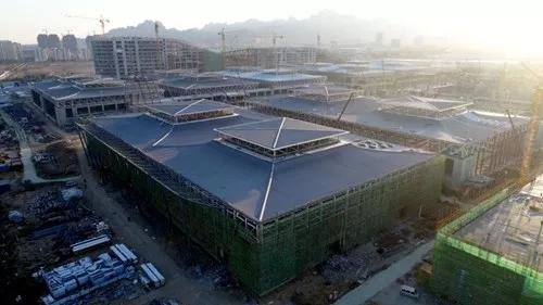 在今年的8月16—19日,第十三届中国国际会展文化节上,中铁·青岛世界