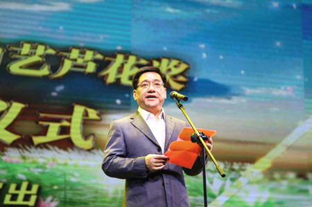 苏州市副市长、高新区党工委书记徐美健致辞