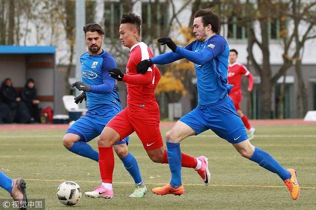 多次错失良机 U20国青德国地区联赛首秀0