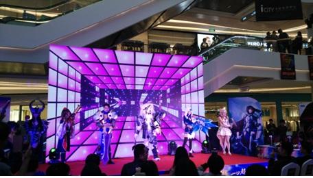 湖南艺术玩家_灵药现身wca湖南总决赛 与上万电竞玩家互动