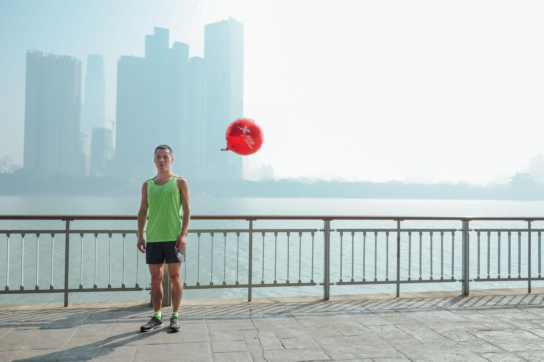 2017长沙国际马拉松赛 和官方配速员一起跑上瘾