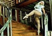 大码女子跳芭蕾展别样自信