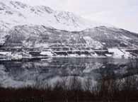 北极小镇绝美风光