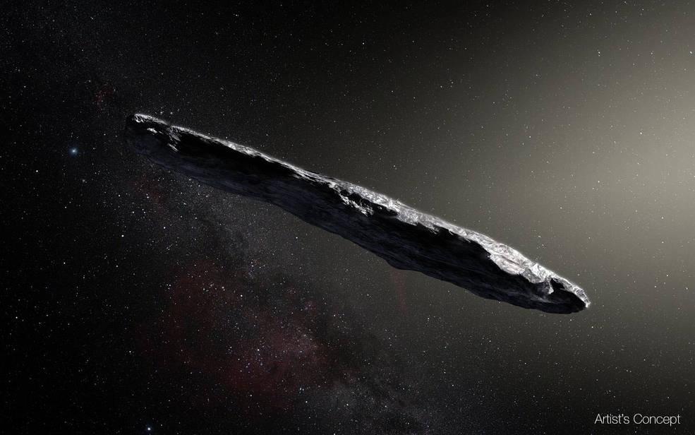 NASA:科学家证实太阳系迎来首个星际访客(组图)