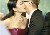 钟丽缇献吻他 身材太抢镜!