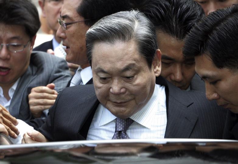 三星董事长李健熙涉嫌转移42亿美元资金遭调查
