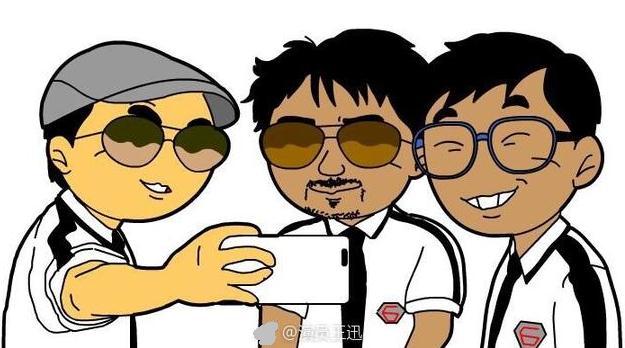 王迅为黄磊庆生动漫形象却亮了 极限兄弟帮私下关系原来这么好