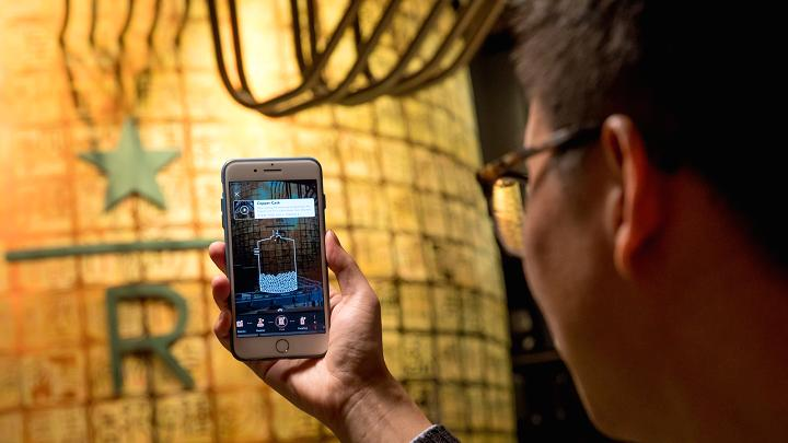 """星巴克第二家虚拟现实、3D打印门店""""臻"""