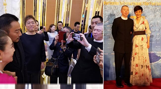 冯小刚徐帆恩爱出席塞班齐乐娱乐国际老虎机节 《芳华》收获四座大奖