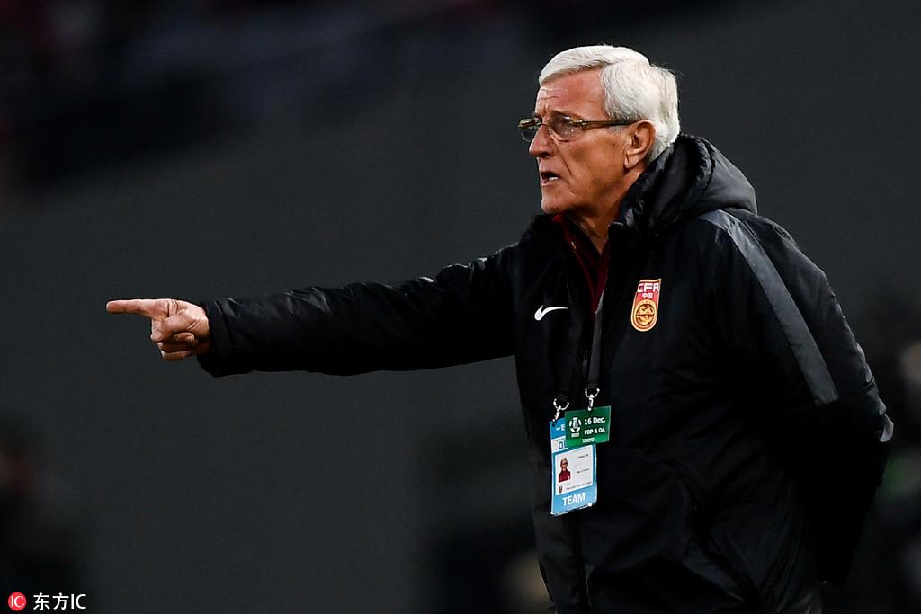 里皮:对年轻球员表现满意 中国杯将招入更强队员