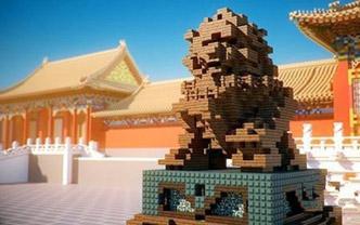 95后小伙在游戏里搭造虚拟故宫 惊艳了国人