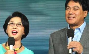 朱时茂66岁妻子曝光 两人恩爱40多年