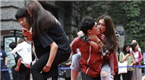 南京情侣互动大赛 表达对爱人真挚情意