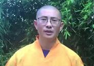 广西桂平市西山龙华古寺监院昌愿法师佛诞送祝福