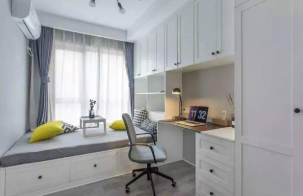 榻榻米房里的书桌,如何做到即好看又实用?