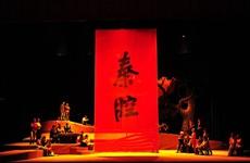 为澳门学生讲陕西剧种 李小锋:秦腔是做人的文化