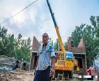 商丘豫皖交界有個貧困村給老人蓋新房讓村子換新顏