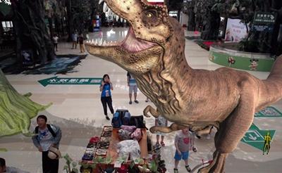 = 呀诺达开启2018侏罗纪公园AR体验之旅