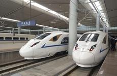 """受台风""""山竹""""影响西安北车站16列高铁停运"""