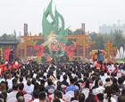 碧桂園-虞城手拉手活動啟動儀式在劉店鄉小侯希望小學舉行