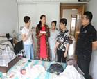 商丘市中医院妇产二科视患者如亲友 积极开展家庭回访工作
