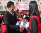 柘城法院院長張書勤走進職業技術學校宣講憲法精神