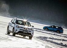 一汽丰田全系冰雪试驾 冰面见锋芒