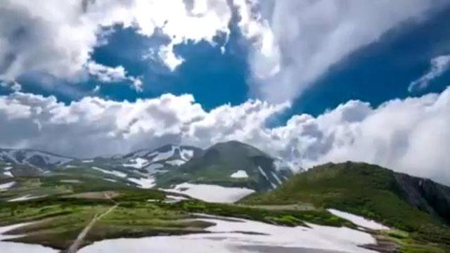 旅行达人带你看日本北海道大雪山国立公园