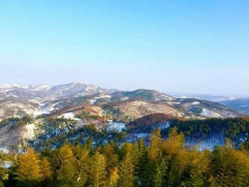 暖阳初生 雪后美景 西九华山带你一起穿越