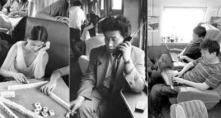 火车上的中国人40年大变迁
