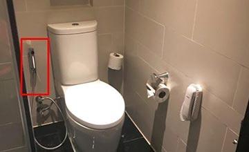 泰国人卫生间马桶旁有个喷头 看完就懂了
