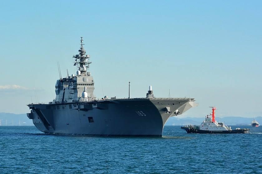 """日本狡辩""""出云""""改航母不违宪 将供美军战机起降"""