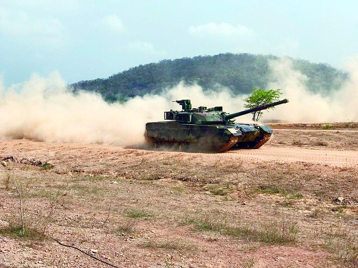 """泰国军方1月2次""""炫耀""""VT4坦克 高度评价其性能"""