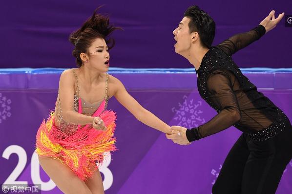 中国冰舞组合:已经尽了全力 不知道为什么被扣分