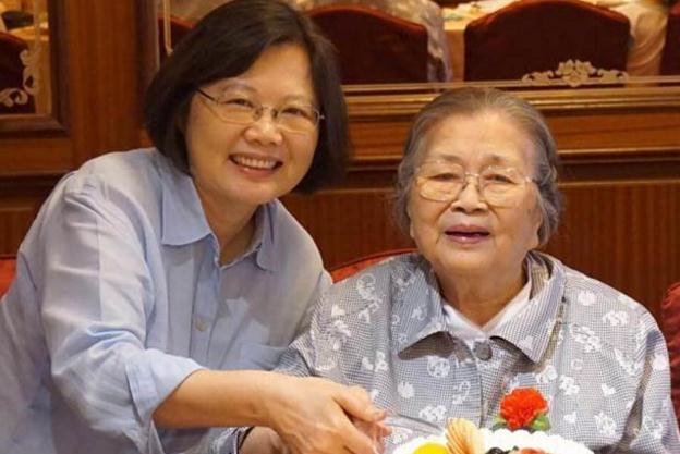 蔡英文母亲张金凤去世 终年93岁