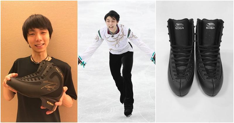 冰上王子的魅力!羽生结弦溜冰鞋拍卖高达200万
