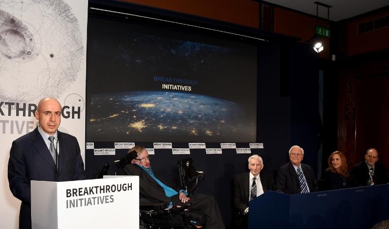 霍金曾力挺俄罗斯富豪:投资一亿美金寻找外星人