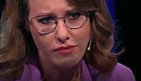 不能忍!俄女总统候选人辩论中途直接被气哭离场