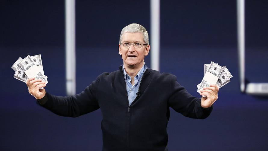 苹果公司将花掉1630亿美元净现金储备 盯紧这三大领域