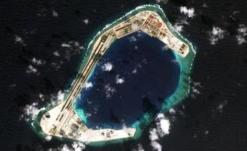 渚碧岛最新全景照暴光:可包容20架战机 仍可扩建