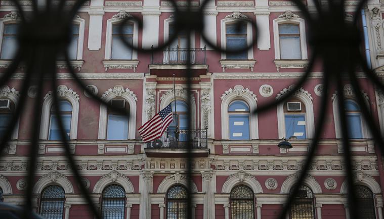 反击!俄将驱逐60名美外交官 关闭圣彼得堡美领事馆