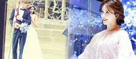 林志玲欧洲拍婚纱被捕获 露肩纱裙仙气藏不住
