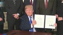 中美贸易战开打 中国发出第一份贸易清单 美国慌了!