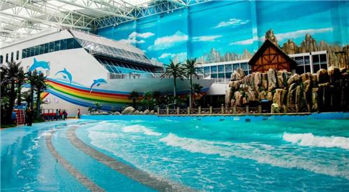 青岛万达水乐园 4月28日,青岛东方影都将全面开业,万达茂,万达乐园