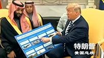特朗普与沙特王储谈生意 细数售卖美制军备