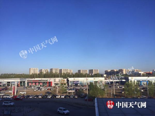 今来日诰日北京天气晴好 周五有小雨最高气温将降至13℃