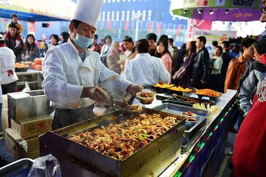 青天河美食月将于4月20日挑战你的味蕾 青山绿水间吃遍全国各地美食