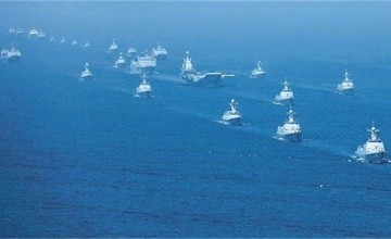 解放军航母舰队