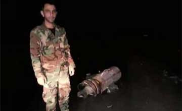 这就是被叙利亚击落的美军导弹残骸?