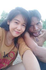 泰国美女再嫁患病丑男 前夫崩溃